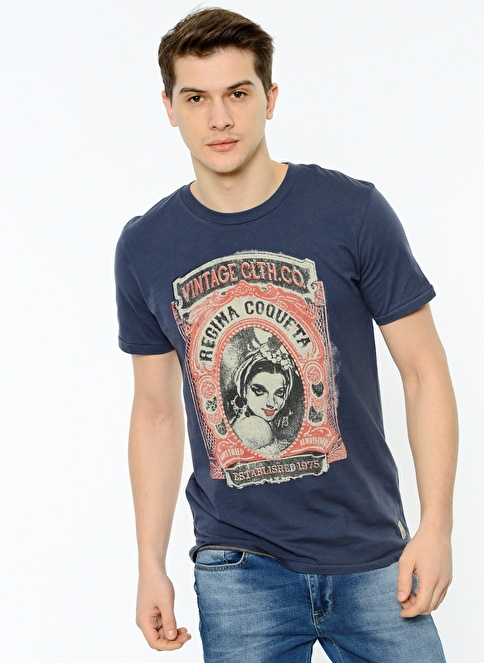 Jack & Jones Tişört İndigo